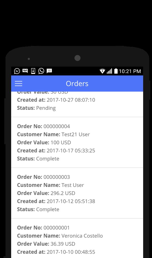 Admin for Magento screen 2